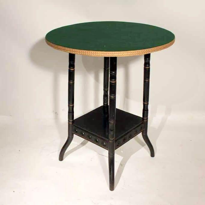A 19Th Century Aesthetics Ebonised Table