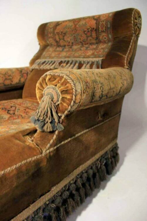 A Victorian Carpet Chair.