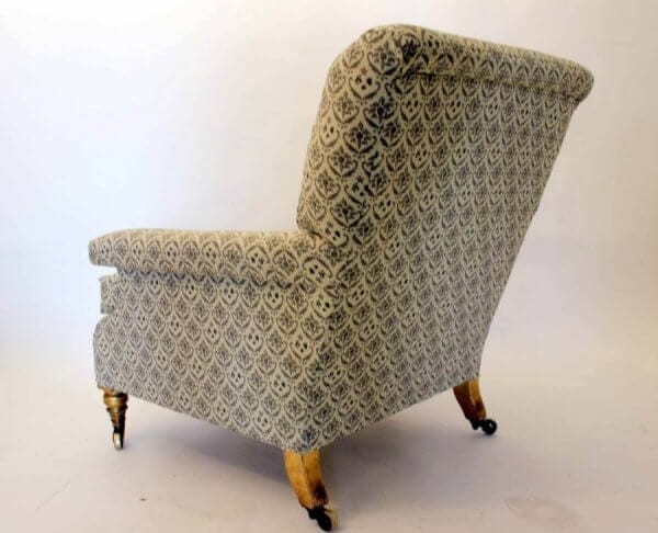 19Th Century Howard & Sons Armchair