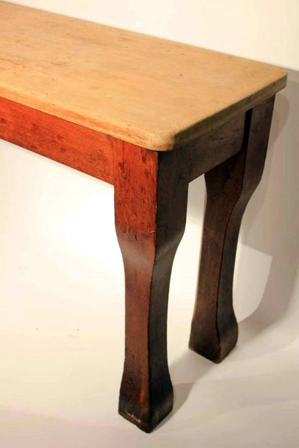 A Large 19Th Century Hall Table
