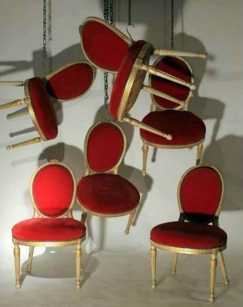 A Set Of Six 19Th Century Chairs