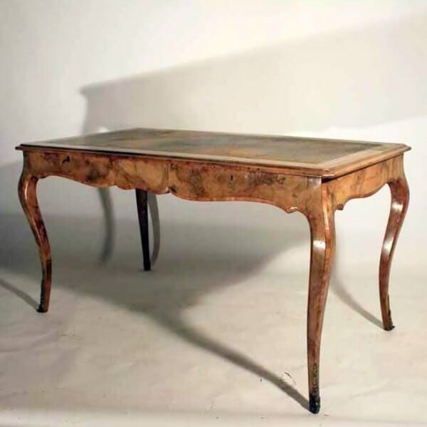 19Th Century Walnut Desk Made By Howard & Sons