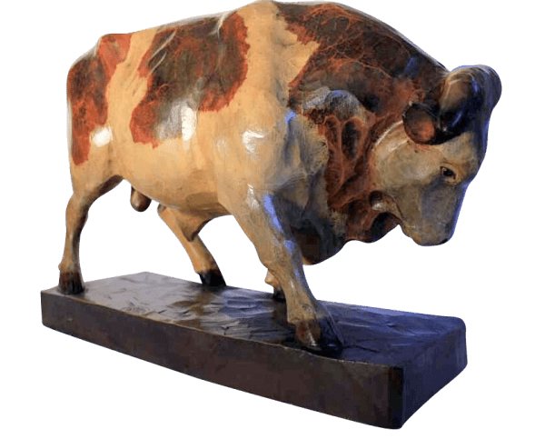 a Large 19th Century Butchers Bull