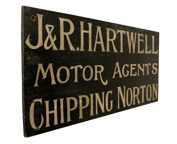 19Th Century Painted Sign
