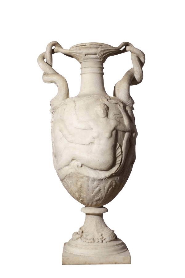 A Large 19th Century Marble Urn