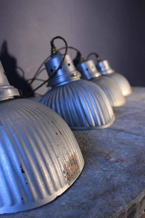 set of four G.E.C. pendant Lights