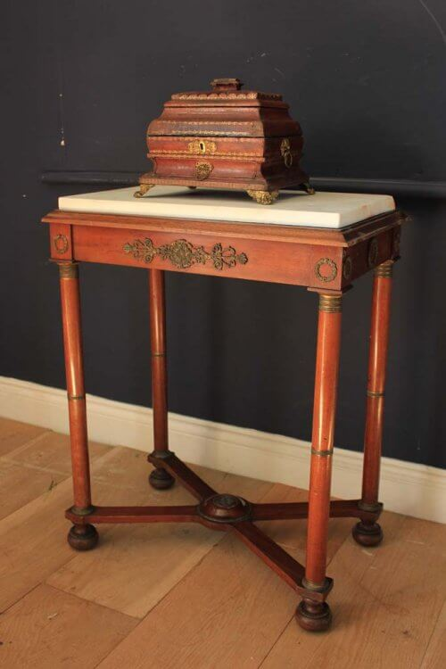 19th century French empire table