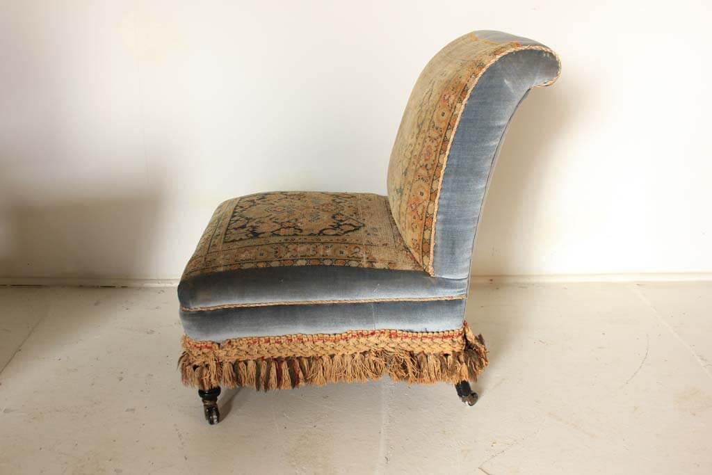 A Victorian Carpet Chair