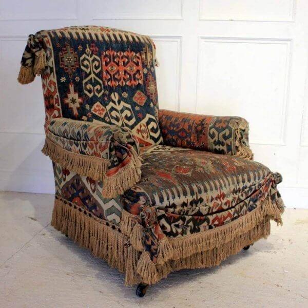19Th Century Carpet Chair