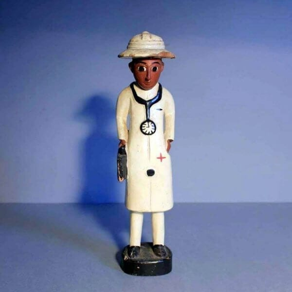 1930s African Carved Figure Of The Doc !