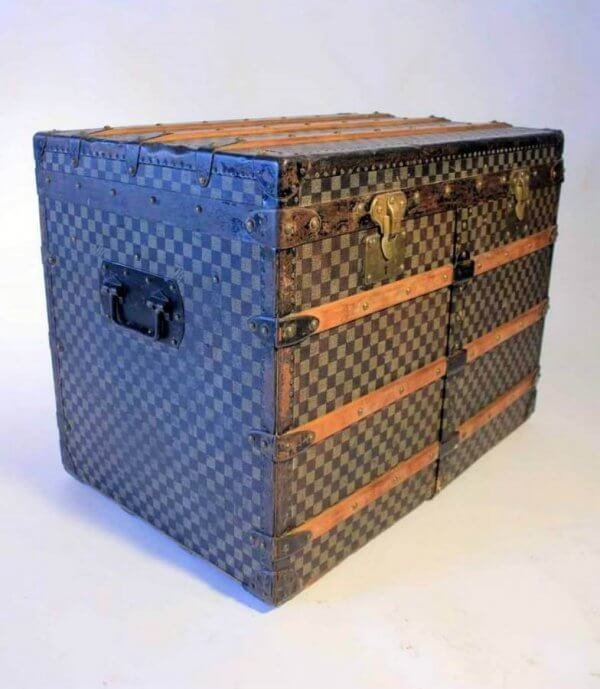 A Rare 19Th Century Louis Vuitton Trunk