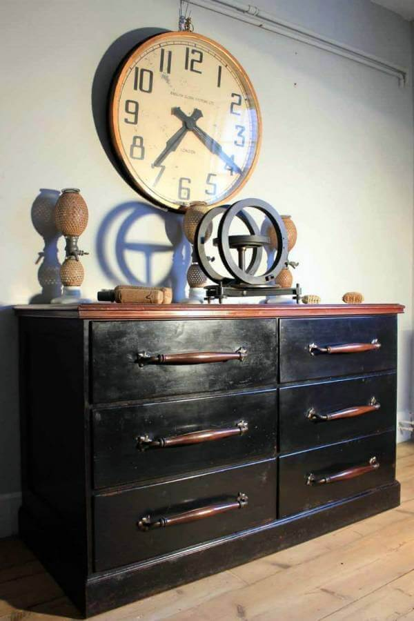 A Large Early 20Th Century Factory Clock