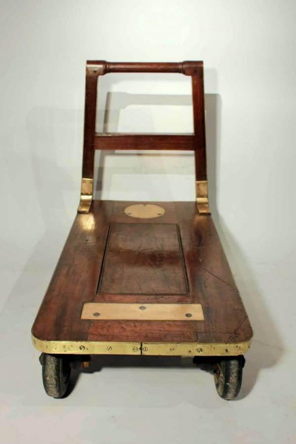 Edwardian Gold Bullion Cart