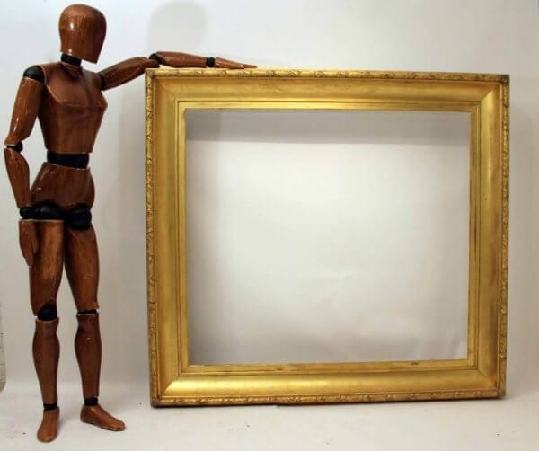 Large 19Th Century Gilt Frame