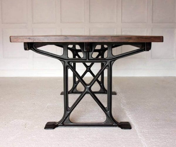A Large 19th Century Industrial Work Table