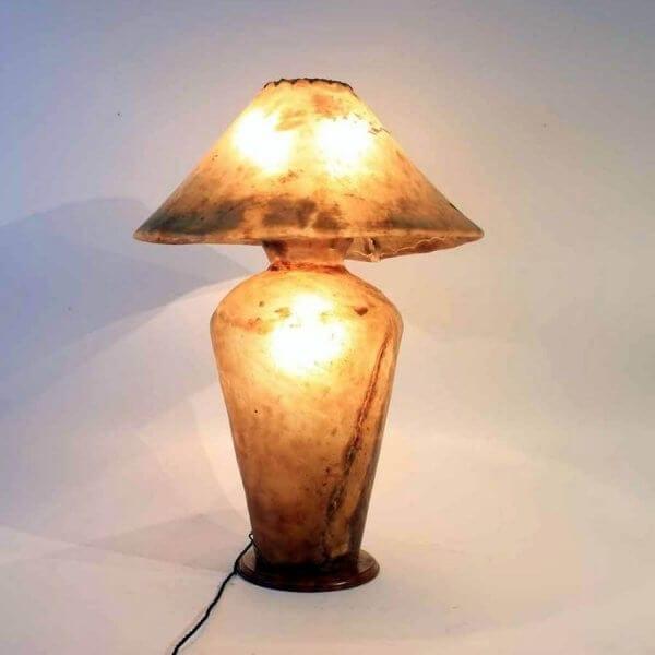 1930s Vellum Lamp
