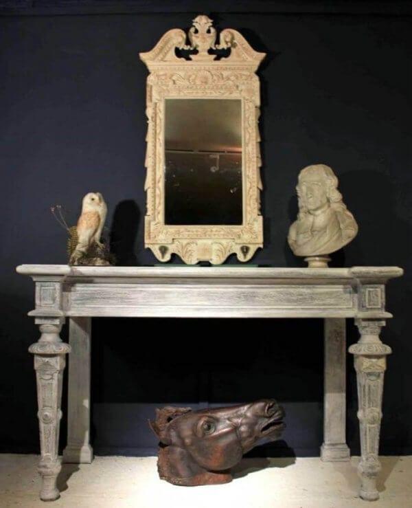 George II Style Pier Mirror