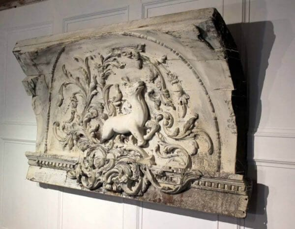 A Large 18Th Century Carving