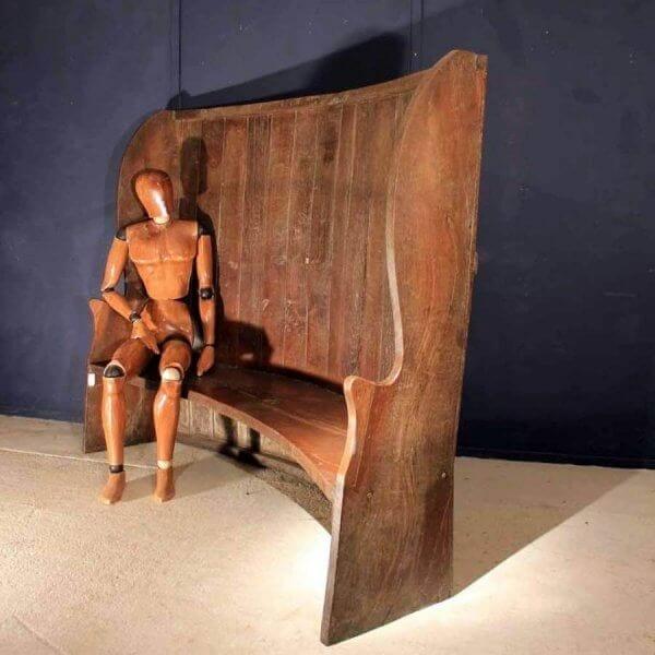 19Th Century Arts & Crafts Settle