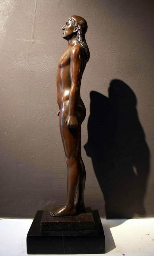 1920s Egyptian Revival Bronze Figure Blighty Antiques