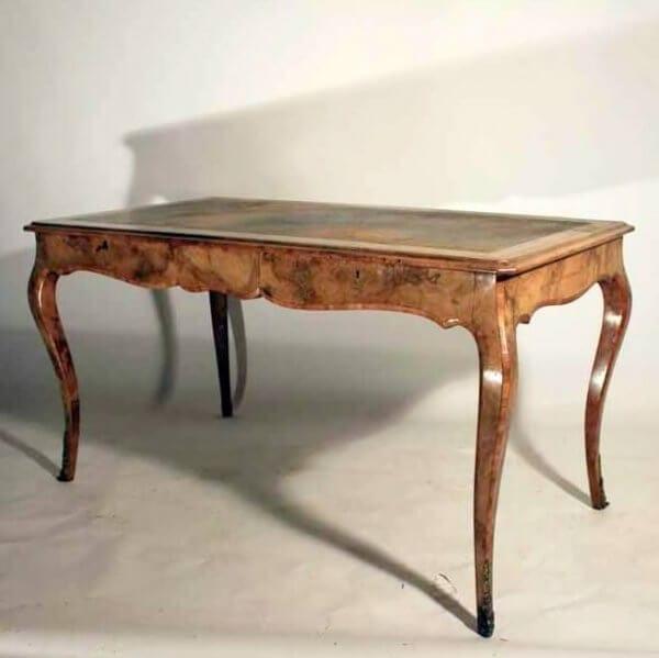 19Th Century Walnut Desk Made By Howard & Sons