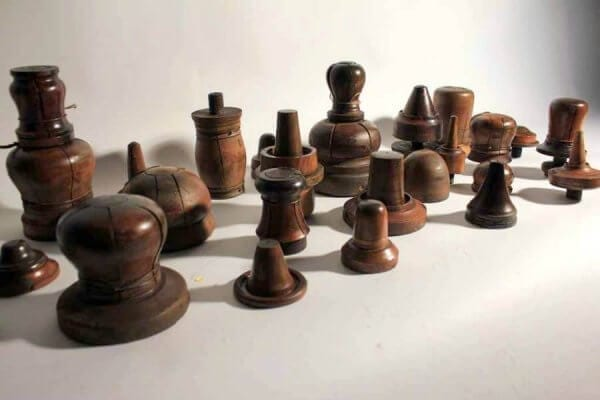 A Collection Of Victorian Foundry Moulds