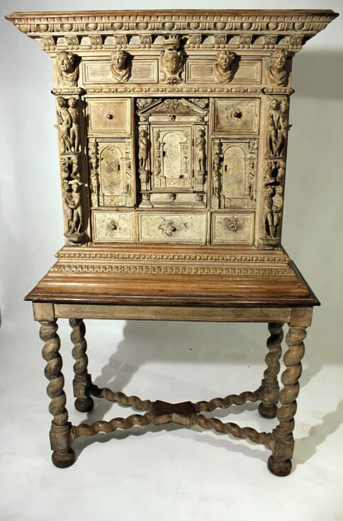 A Early 18Th Century Florentine Renaissance Cabinet