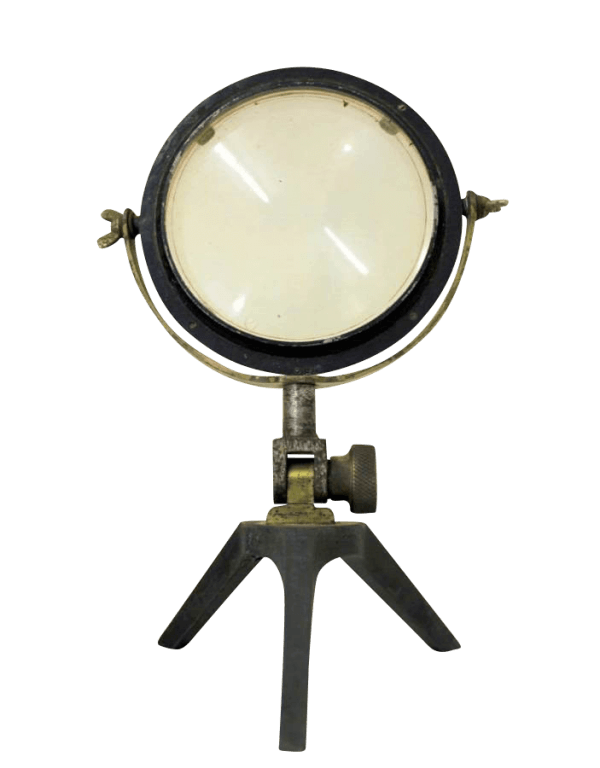 A Rare Set Of 19Th Century Scientific Mirror Lenses