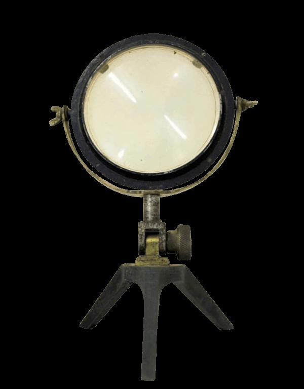 A Rare Set Of 19Th Century Scientific Mirror Lenses