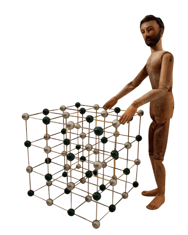 Collection Of Four 20Th Century Molecules Models