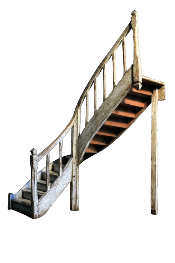 19Th Century Model Staircase
