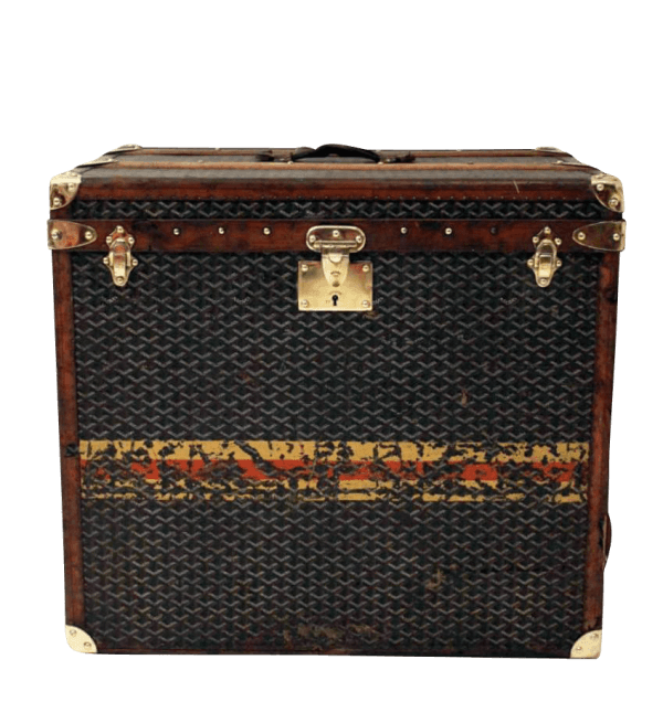 Early 20th Century Goyard Steamer Trunk